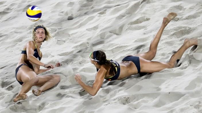 Beachvolleyball WM Wie sich die Quotenqueens zurückbeißen