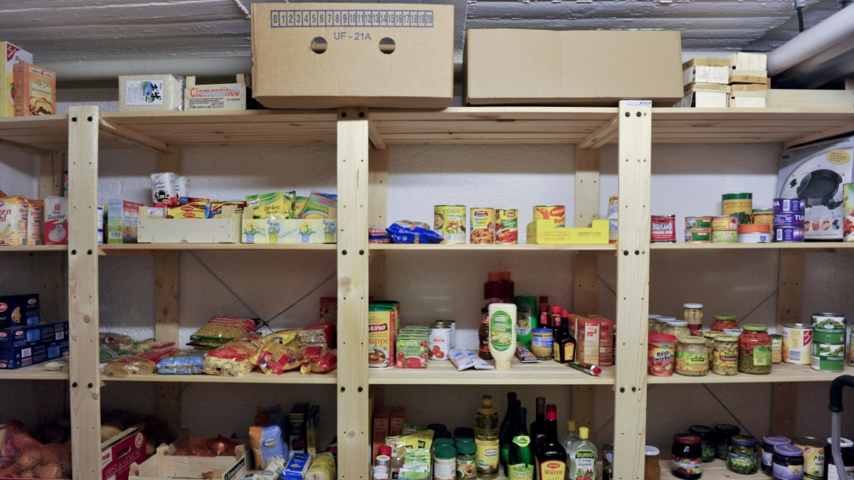Bürger sollen Nahrungsvorräte für den Ernstfall anlegen
