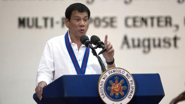 Rodrigo Duterte, der Präsident der Philippinen
