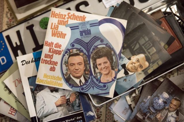 Nachlass des Showmasters Heinz Schenk