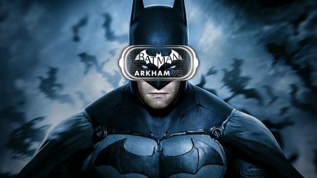 """Gamescom """"Batman: Arkham VR"""" auf der Gamescom"""