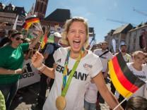 Empfang deutsche Olympia-Mannschaft