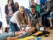 Erste-Hilfe-Kurs Joho-Schüler