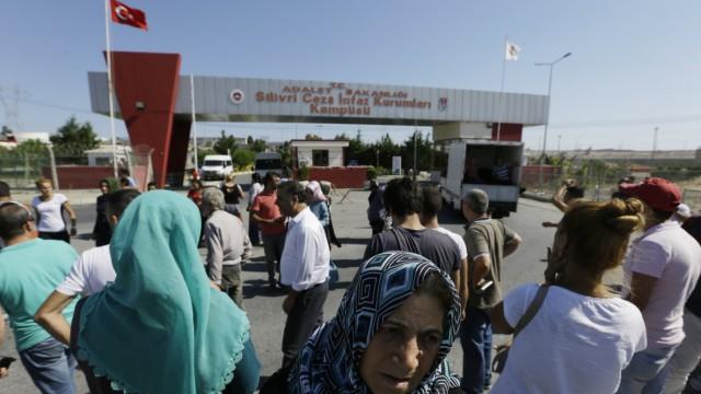 Hochsicherheitsgefängnis von Silivri in der Türkei