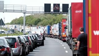 LKW-Unfälle an Stauenden