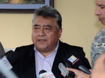 Bolivian Deputy Interior Minister Rodolfo Illanes is seen in this undated handout picture provided by Bolivian Presidency