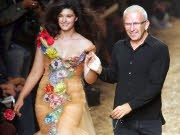 Crystal Renn, Model, Jean-Paul Gaultier, AP