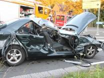 Unfall auf der A3 bei Solingen