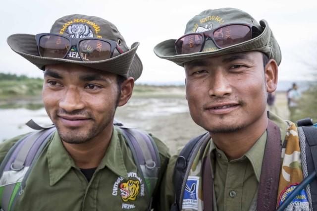 Antiwilderer Projekt Chitwan National Park Nepal