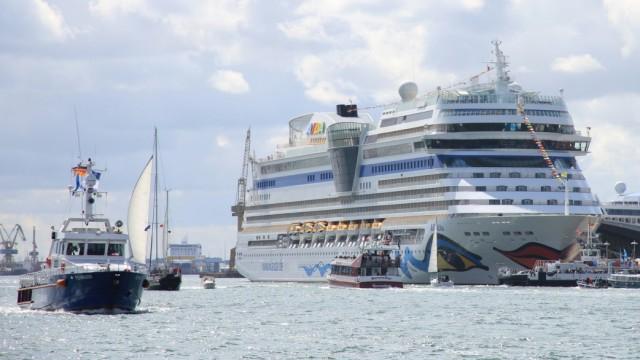 Hanse Sail 2016: AIDA Cruises zwei Schiffen zu Gast