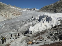 Europe's Melting Glaciers: Rhone