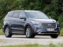 Der neue Hyundai Grand Santa Fe.