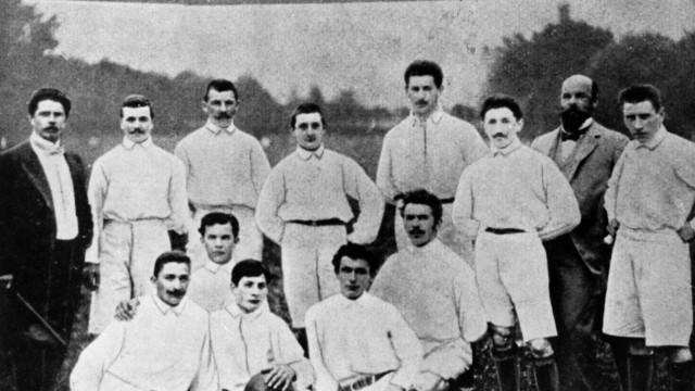 Erstes Fußballspiel des TV 1860 München, 1902