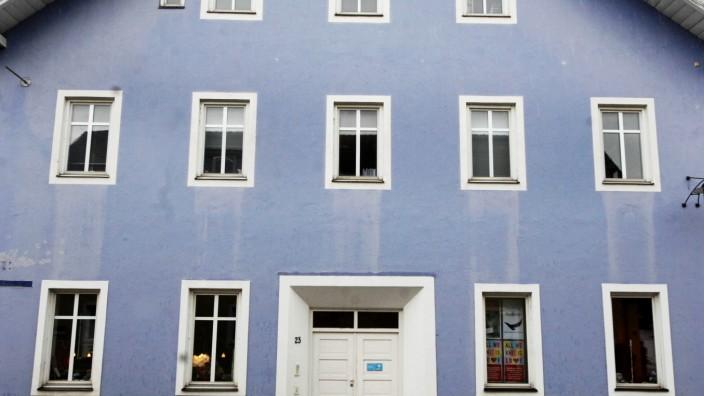 Dießen: blaues Haus