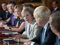 The Prime Minister Holds A Cabinet Meeting At Chequers