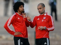 Bayern Muenchen - Training & Press Conference; Dante