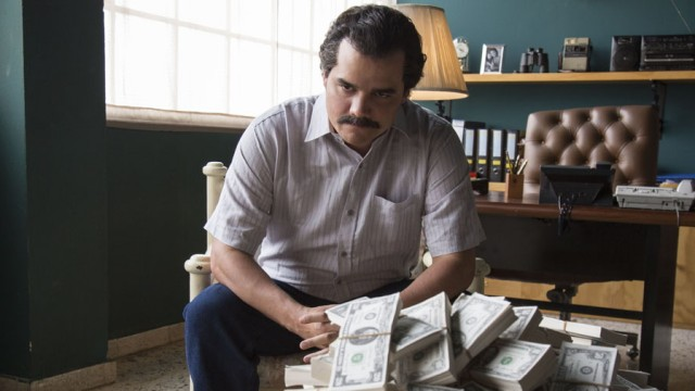 """Wagner Moura in """"Narcos"""", Staffel 1"""