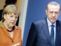 Flüchtlingsabkommen - Merkel und Erdogan