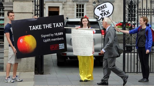 Süddeutsche Zeitung Wirtschaft Irland und die Steuern