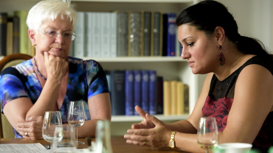 Gerda Hasselfeldt und Lamya Kaddor
