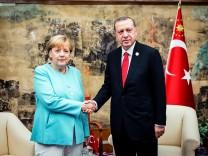 Merkel trifft Erdoganvor G20-Gipfel
