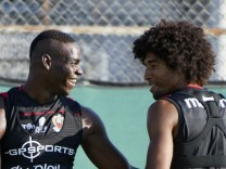Mario Balotelli training session with OGC Nice