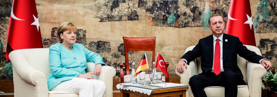 Merkel trifft Erdogan vor G20-Gipfel