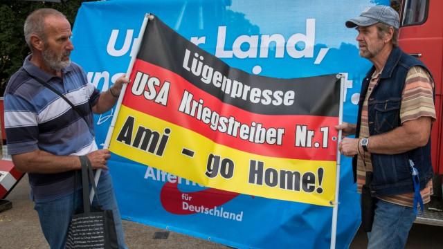 Kundgebung zum Wahlkampfabschluss der AfD