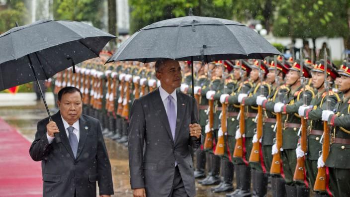 Bounnhang Vorachit, Barack Obama