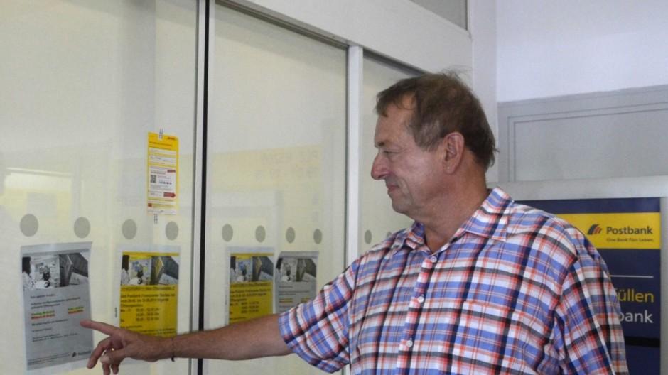 Vor verschlossener tür  Krankenstand bei der Postbank - Vor verschlossener Tür - Dachau ...