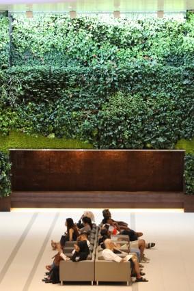 Vertikale Gärten Singapur