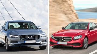 Volvo S90 vs. Mercedes E-Klasse