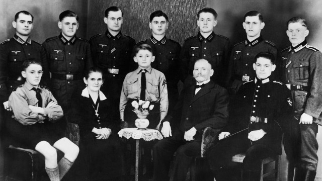 Kinderreiche Familie im Dritten Reich, 1941