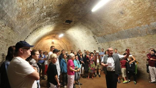 Freising Ausflug in den Untergrund