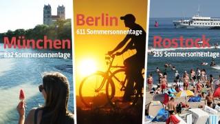 Sommer in Deutschland Wetterdaten-Analyse