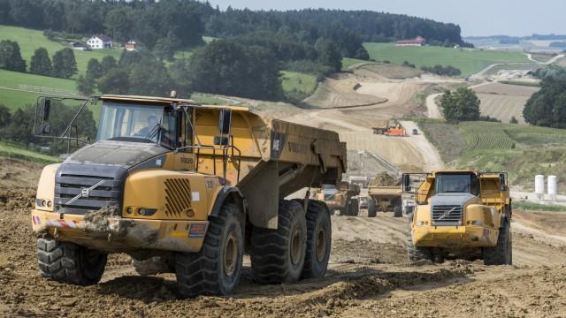 Baustelle Isentalautobahn