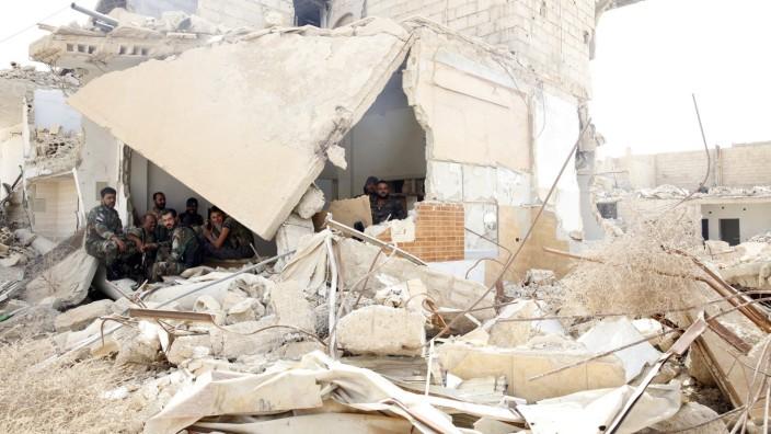 Zerstörung in Daraja