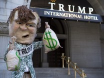 Opening of Trump International Hotel