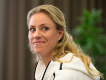 Pressekonferenz mit Angelique Kerber
