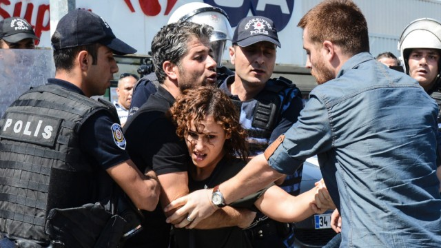Proteste in der Türkei