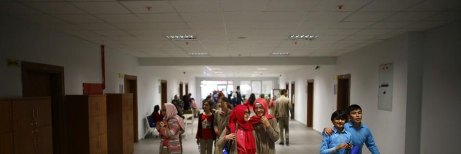 Schüler der weiterführenden Tevfik-İleri-İmam-Hatip-Schule in Ankara im Jahr 2014, vor dem Putsch. (Foto: REUTERS)
