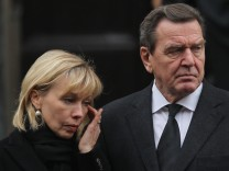 FILE - Former German Chancellor Gerhard Schroeder And Wife Get Divorced