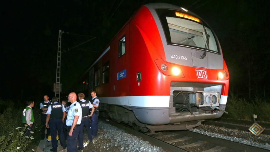 Axt-Attacke in Zug bei Würzburg