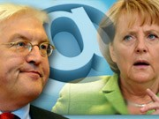 Parteien im Internet, Steinmeier, SPD, Merkel, CDU