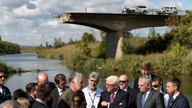 Steinmeier besucht die Ukraine