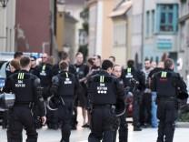 Gewalttätige Auseinandersetzungen in Bautzen