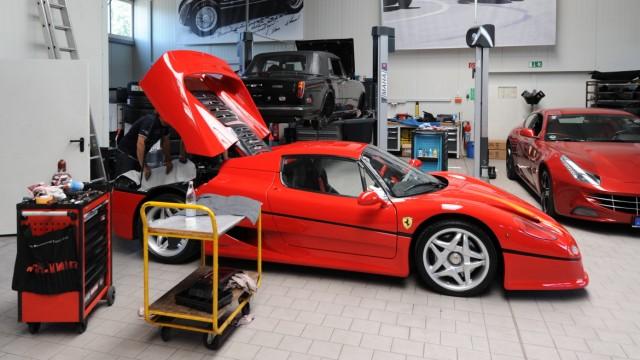8bb8e97ee2cf Reportage  Ferrari-Hotel der Scuderia GT am Irschenberg - Auto ...