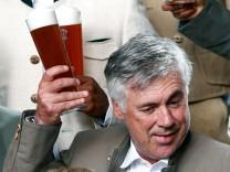 Bayern Munich's coach Ancelotti attends photocall in Munich