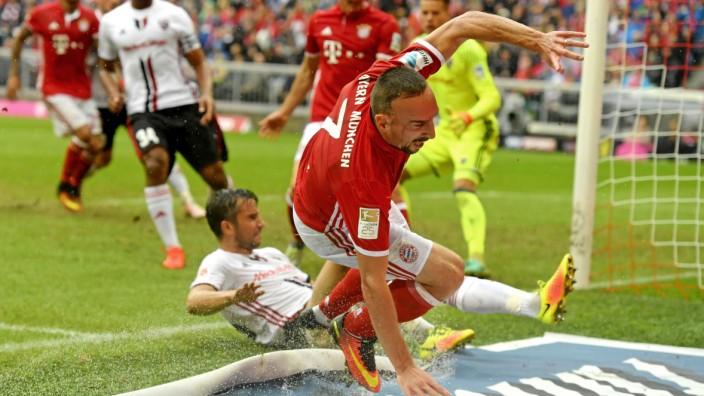 17 09 2016 Fussball 1 Liga 2016 2017 3 Spieltag FC Bayern München FC Ingolstadt 04 in der Alli