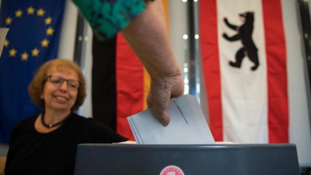 Wahl zum Berliner Abgeordnetenhaus